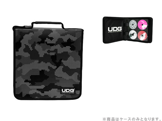 UDG CD-Wallet 128 Digital Camo Grey [U9979CG]-CDケース128枚収納-